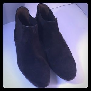 Doucal's Brown Suede Ankle Boots Size 41